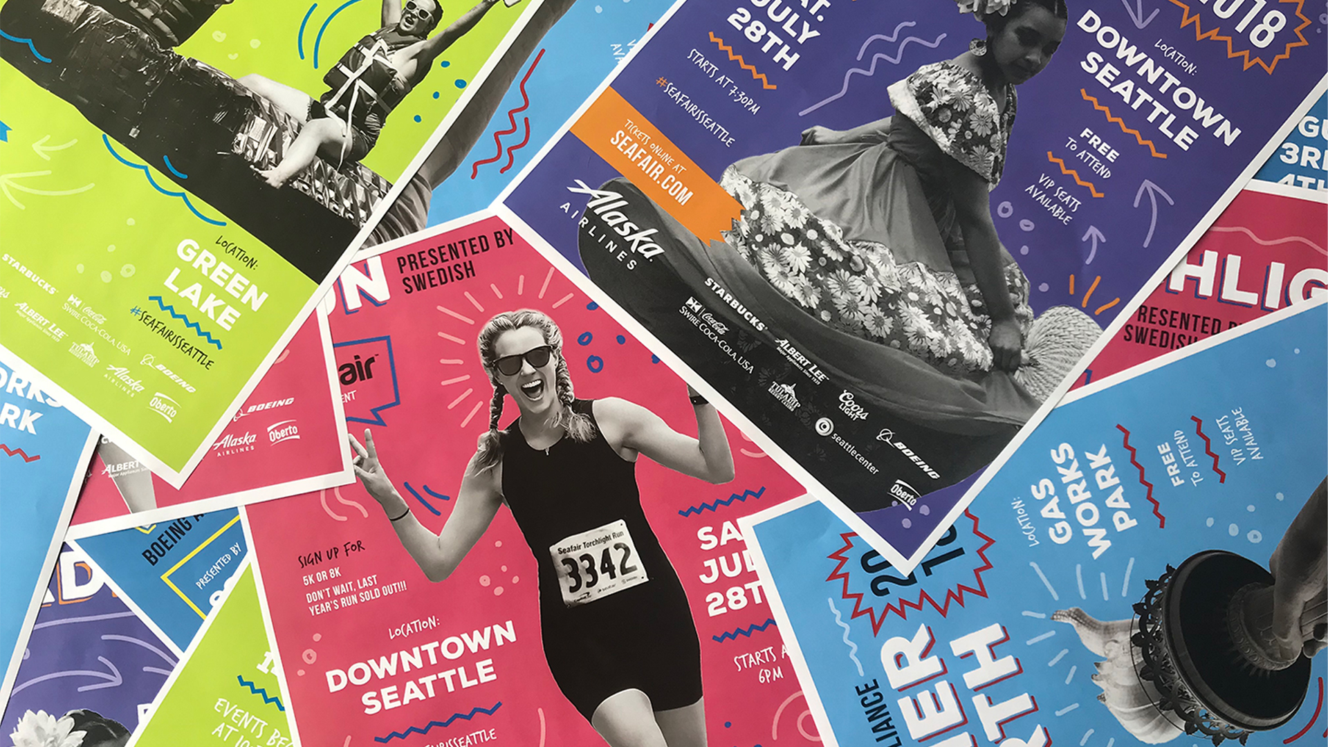 Seafair Summer Festival Event Posters