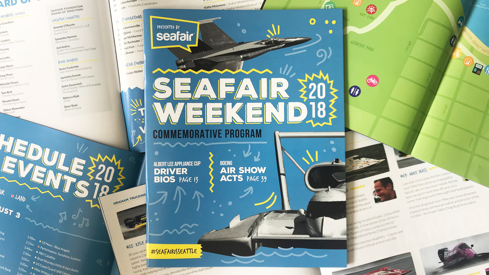 Seafair Weekend Commemorative Program