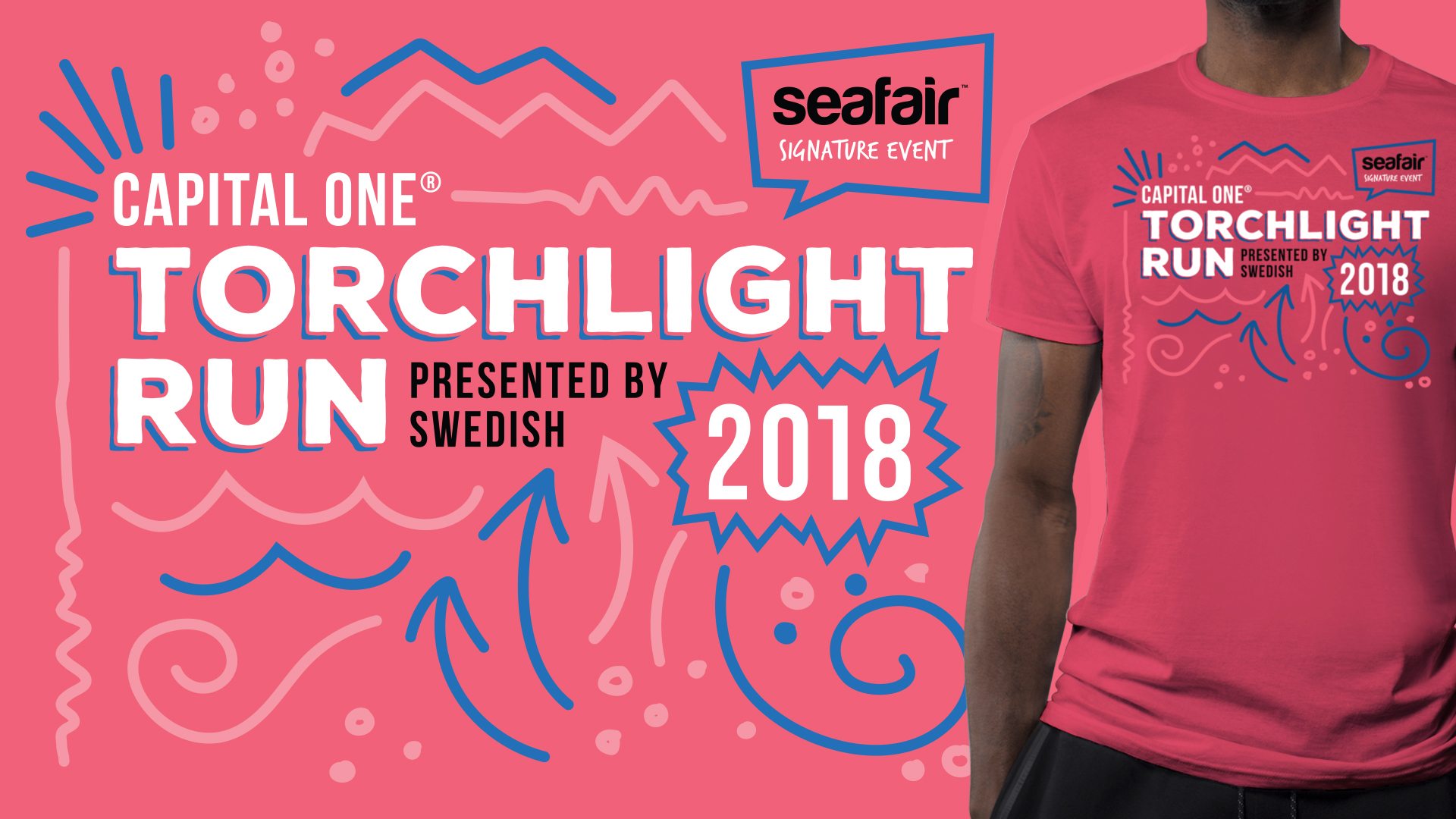 Seafair Torchlight Run T-Shirt